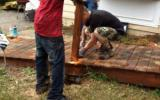 Removing the old ramp